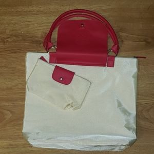 Vince Camuto  Tote Bag with poach.